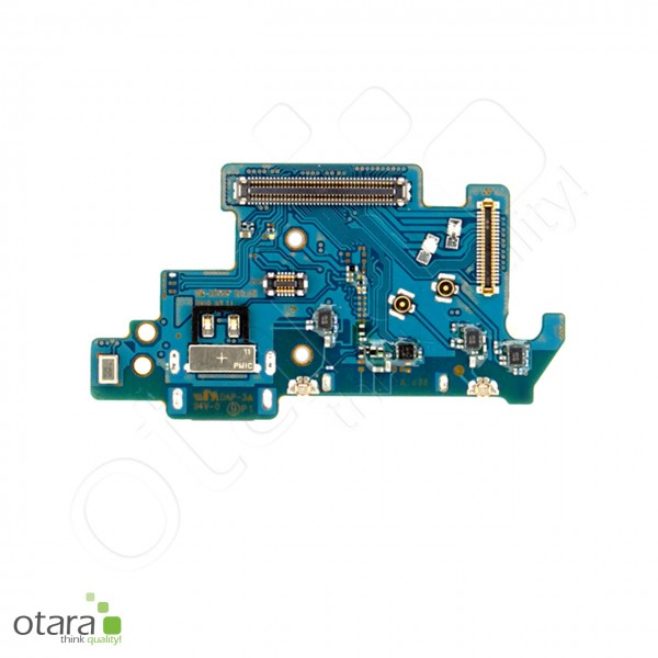Samsung Galaxy A80 (A805F) Ladebuchse Platine USB-C, Mikrofon, Sim Kartenleser, Serviceware