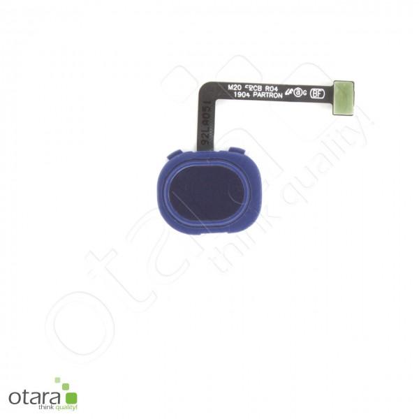 Samsung Galaxy M20 (M205F) Fingerabdruck/Fingerprint Sensor, ocean blue, Serviceware