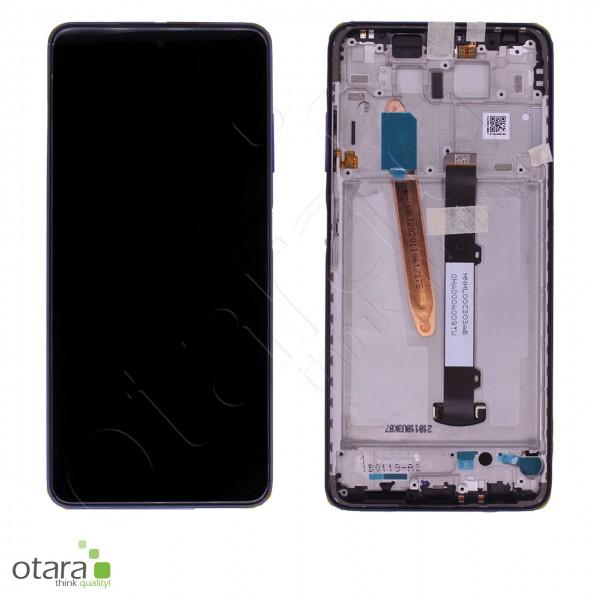 Displayeinheit XIAOMI POCO X3 NFC (M2007J20CG), Cobalt Blue, Serviceware