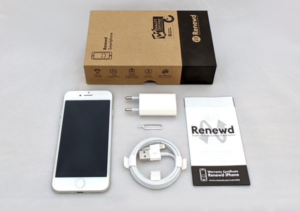 Apple iPhone 7, 128GB (renewed), weiß