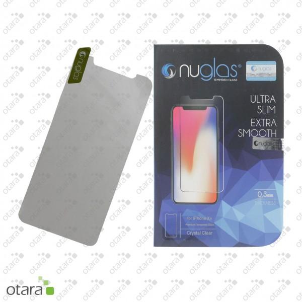 Schutzglas Nuglas (extra dünn 0,3 mm) iPhone XR/11 (mit Verpackung)