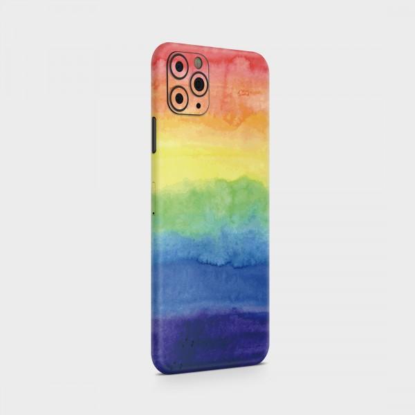 "GREEN MNKY Backcover Skin Smartphone 7"" (Design Serie) ""Over the Rainbow"" [3 Stück]"