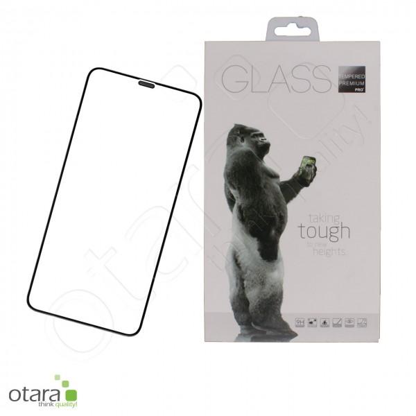Schutzglas Premium 11D für iPhone X/XS/11 Pro, schwarz