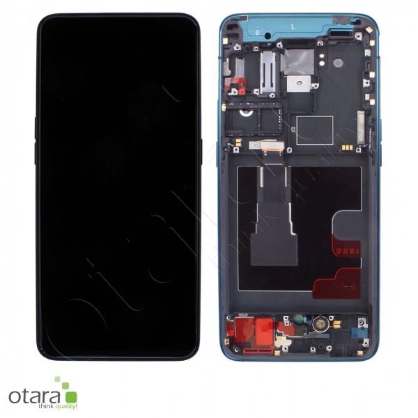 Displayeinheit OPPO RENO2, ocean blue, Serviceware