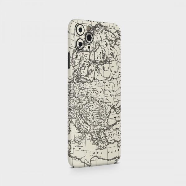 "GREEN MNKY Backcover Skin Smartphone 7"" (Design Serie) ""Europe"" [3 Stück]"