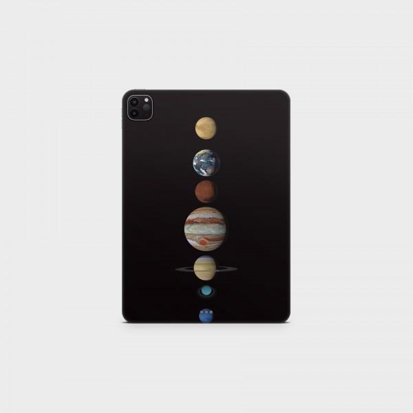 "GREEN MNKY Backcover Skin Tablet 11"" (Design Serie) ""Planets"" [3 Stück]"