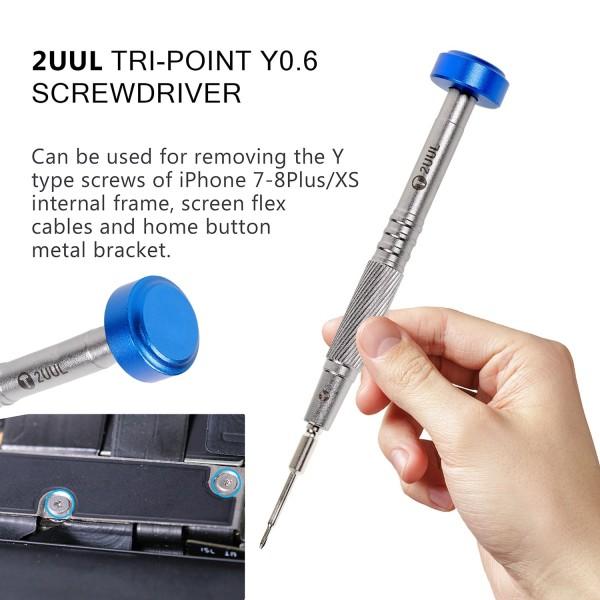 2UUL everyday screwdriver Tri-Point 0,60 (blau) NEW EDITION