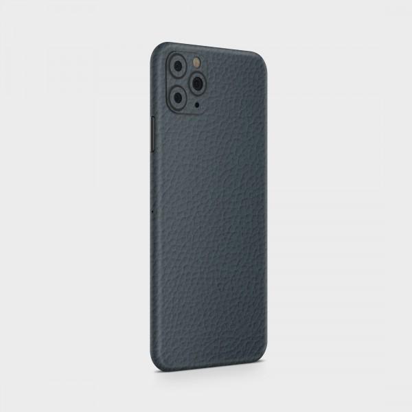 "GREEN MNKY Backcover Skin Smartphone 7"" (Struktur Serie) ""Lederoptik Blue"" [3 Stück]"