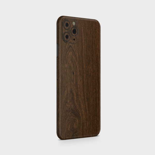 "GREEN MNKY Backcover Skin Smartphone 7"" (Struktur Serie) ""Dark Wood"" [3 Stück]"
