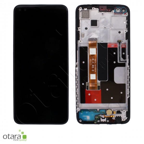 Displayeinheit OPPO RENO4 Z 5G, ink black, Serviceware