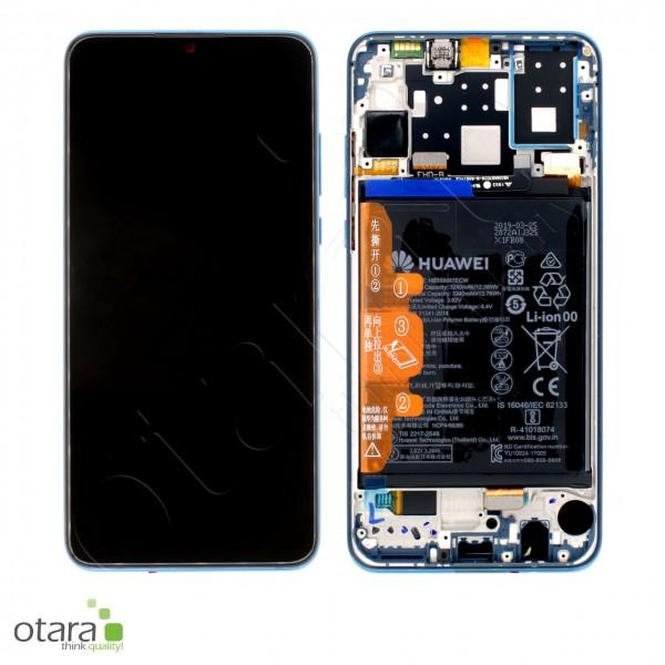 Displayeinheit Huawei P30 Lite (MAR-LX1A), peacock blue, Serviceware