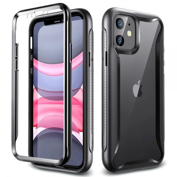 ESR Case iPhone 11 Hybrid Armor 360 Black Frame