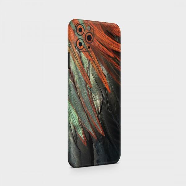 "GREEN MNKY Backcover Skin Smartphone 7"" (Struktur Serie) ""Feather"" [3 Stück]"