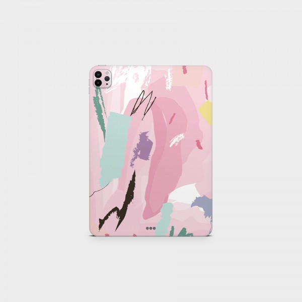 """GREEN MNKY Backcover Skin Tablet 11"""" (Design Serie) """"Art Lover"""" [3 Stück]"""