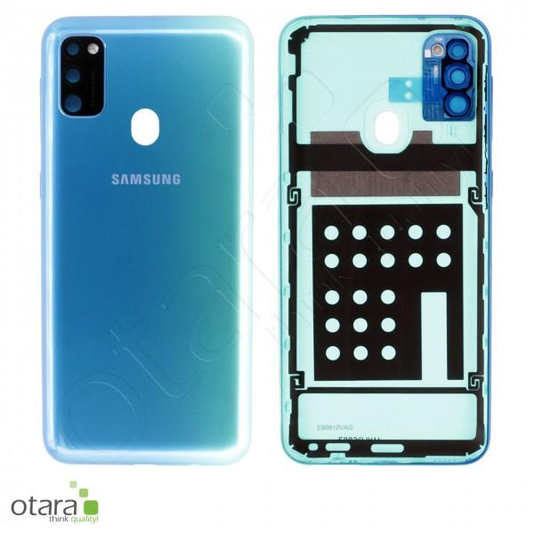Akkudeckel Samsung Galaxy M30s (M307F), sapphire blue, Serviceware