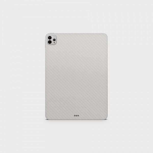 "GREEN MNKY Backcover Skin Tablet 11"" (Struktur Serie) ""Carbon White"" [3 Stück]"