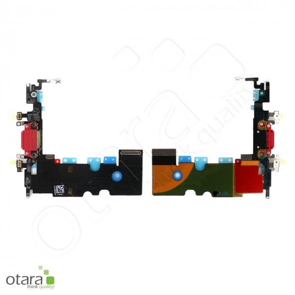 Lade Konnektor Flexkabel inkl. Mikrofon geeignet für iPhone SE2 (Ori/pulled Qualität), rot