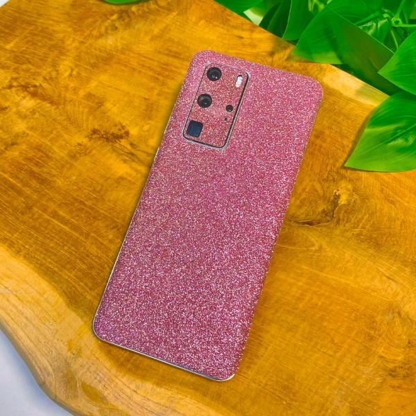 "GREEN MNKY Backcover Skin Smartphone 7"" (Glitter Serie) ""Pink Glitter"" [3 Stück]"