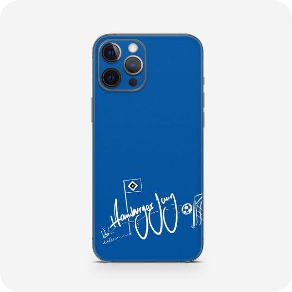 "GREEN MNKY Backcover Skin Smartphone 7"" (HSV Kollektion) ""Hamburger Jung Goal Blue"" [3 Stück]"
