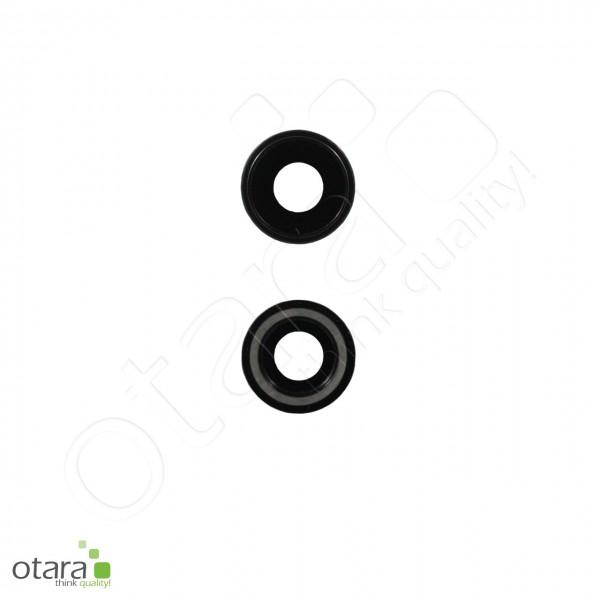 Kameraglas Linse (mit Rahmen) geeignet für iPhone XR, schwarz