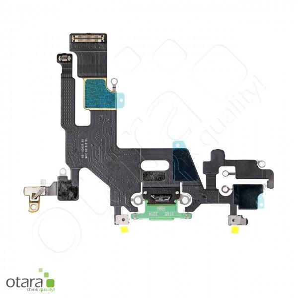 Lade Dock Connector Flex geeignet für iPhone 11 (Ori/pulled Qualität), grün