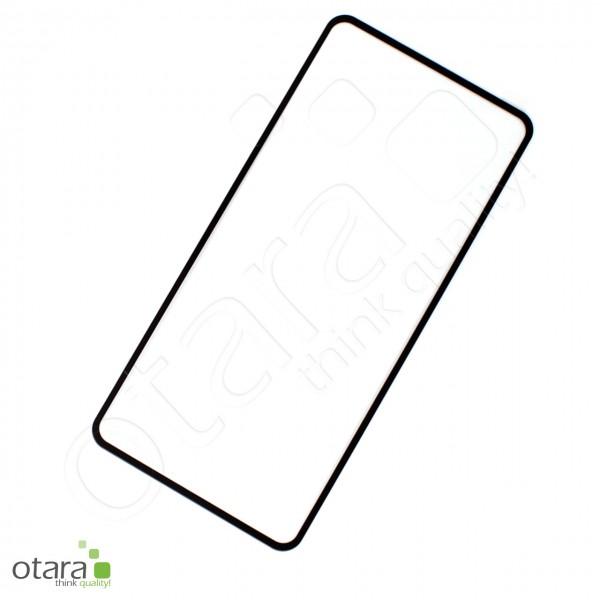 Schutzglas Edge to Edge (full glue) für Huawei P40, schwarz (ohne Verpackung)