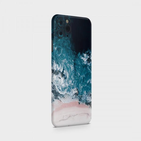 "GREEN MNKY Backcover Skin Smartphone 7"" (Struktur Serie) ""Open Water"" [3 Stück]"