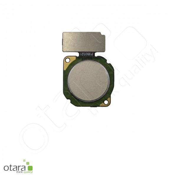Huawei P20 Lite geeigneter Fingerprint Sensor, platinum gold