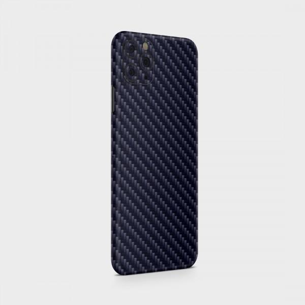 "GREEN MNKY Backcover Skin Smartphone 7"" (Struktur Serie) ""Carbon Blue"" [3 Stück]"