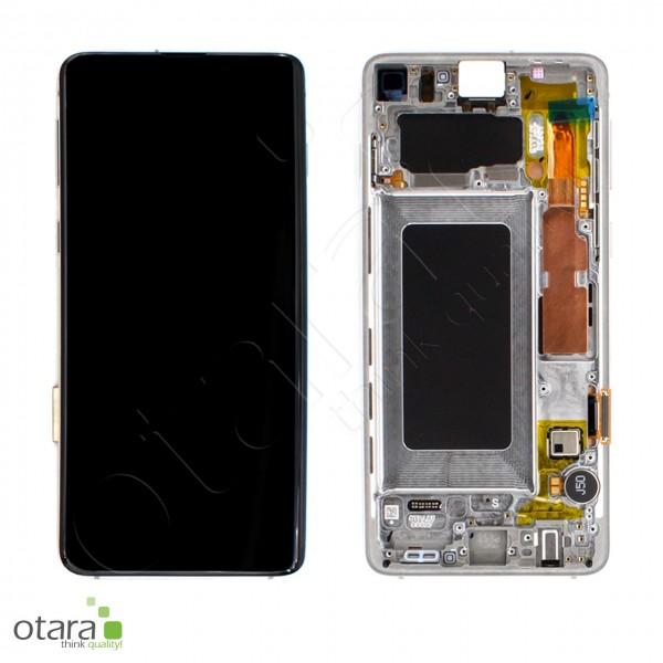 Displayeinheit Samsung Galaxy S10 (G973F), Prism Silver, Serviceware