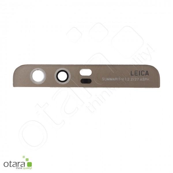 Huawei P10 geeignetes Kameraglas Linse (mit Cover), gold