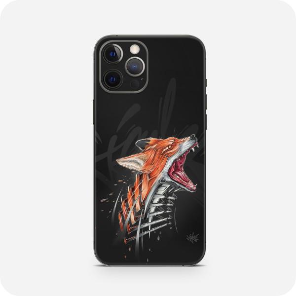 "GREEN MNKY Backcover Skin Smartphone 7"" (Jayn Kollektion) ""Fox"" [3 Stück]"
