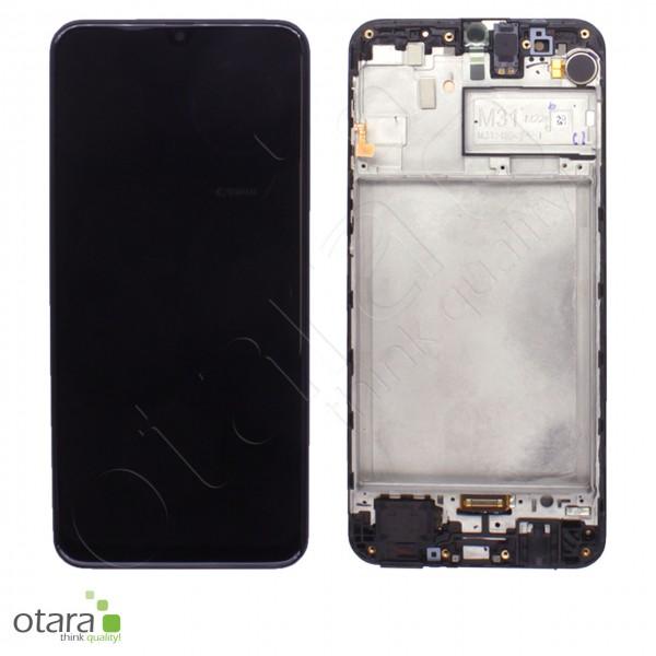 Displayeinheit Samsung Galaxy M31 (M315F), black, Serviceware