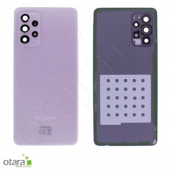 Akkudeckel Samsung Galaxy A72 (A725F,A726B), awesome violet, Serviceware