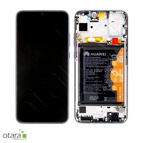 Displayeinheit inkl. Rahmen, Akku Huawei Honor 10 Lite (HRY-LX1), midnight black, Serviceware