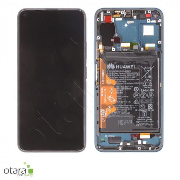 Displayeinheit inkl. Rahmen, Akku Huawei Honor 20 Pro, phantom blue, Serviceware