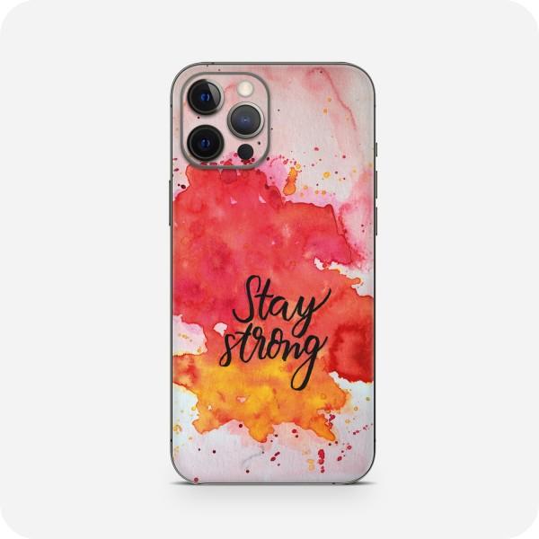 "GREEN MNKY Backcover Skin Smartphone 7"" (Diana Grimm Kollektion) ""Stay strong"" [3 Stück]"