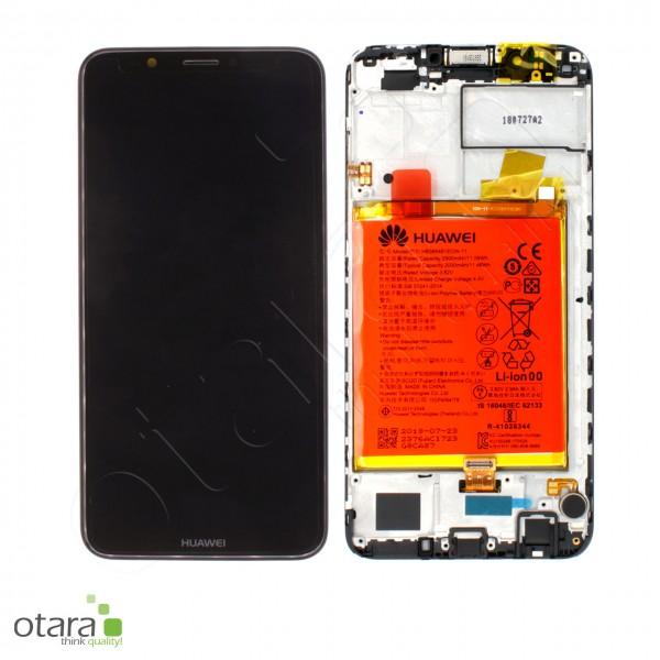 Displayeinheit Huawei Y7 2018, schwarz, Serviceware