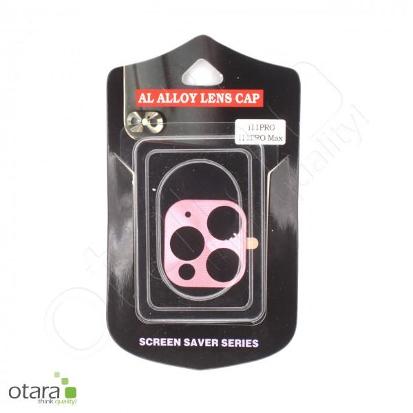 Aluminium Schutz für Hauptkamera iPhone 11 Pro/11 Pro Max, rosa (mit Retail Verpackung)