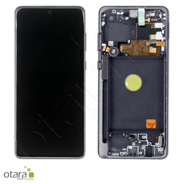 Displayeinheit Samsung Galaxy Note 10 Lite (N770F), aura black, Serviceware