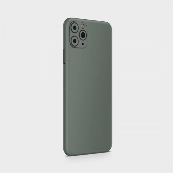 """GREEN MNKY Backcover Skin Smartphone 7"""" (Struktur Serie) """"Lovely Grey"""" [3 Stück]"""