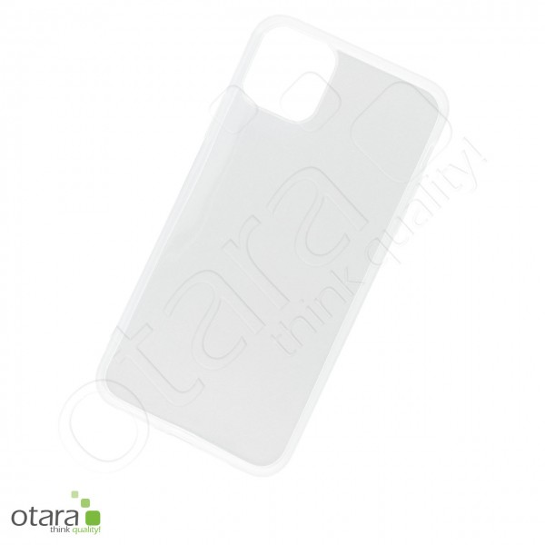 Silikoncase/Schutzhülle für iPhone 11 Pro Max, transparent