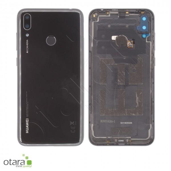 Akkudeckel Huawei Y7 2019, midnight black, Serviceware