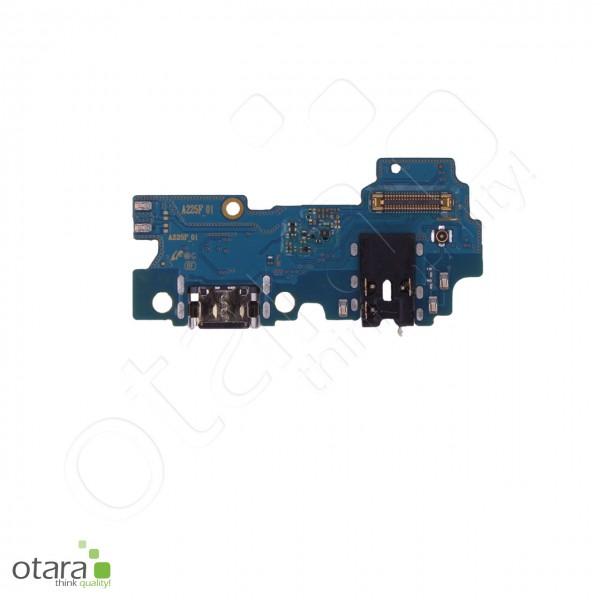 Samsung Galaxy A22 (A225F) Ladebuchse Platine USB-C, Mikrofon, Audio Jack, Serviceware