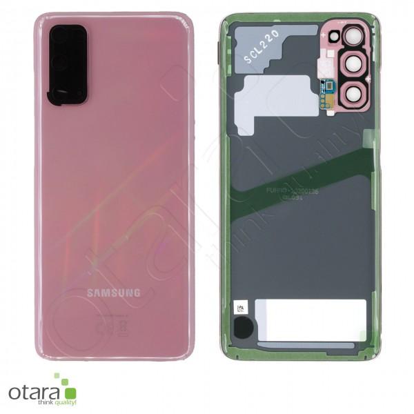 Akkudeckel Samsung Galaxy S20 (G980F|G981B), cloud pink, Serviceware
