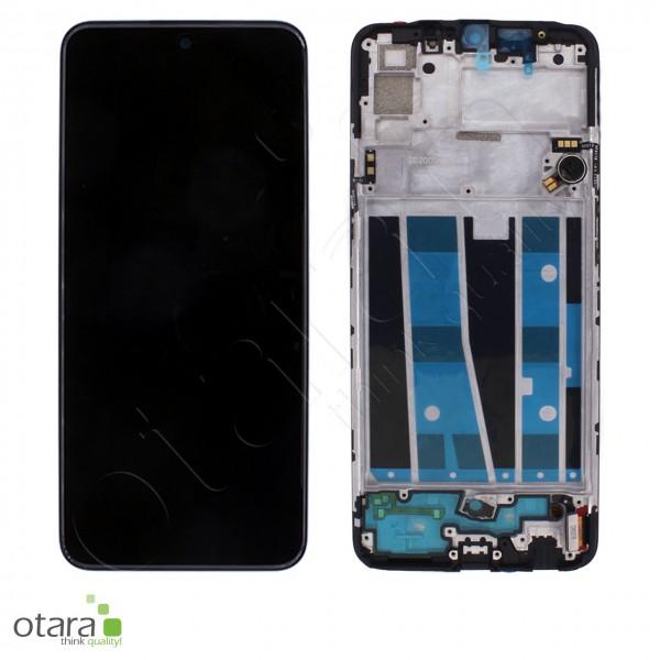Displayeinheit OPPO A91, black, Serviceware