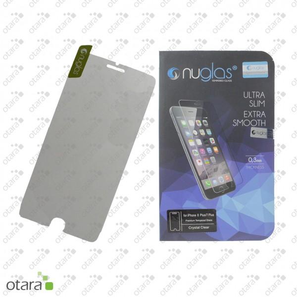 Schutzglas Nuglas (extra dünn 0,3 mm) für iPhone 7 Plus/8 Plus (mit Verpackung)