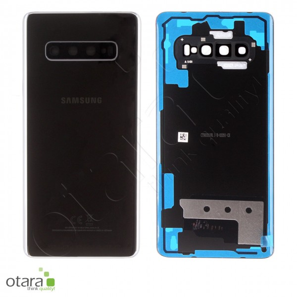 Akkudeckel Samsung Galaxy S10 Plus (G975F), Ceramic Black, Serviceware