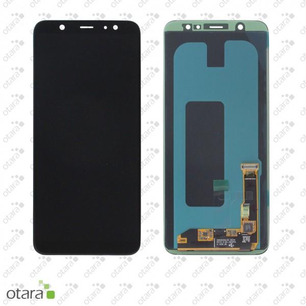 Displayeinheit Samsung Galaxy A6 Plus 2018 (A605FN), schwarz, Serviceware
