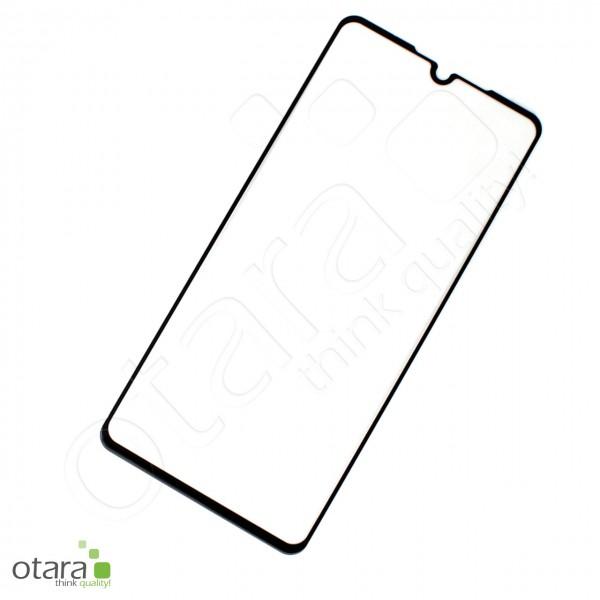 Schutzglas Edge to Edge (full glue) für Huawei P30, schwarz (ohne Verpackung)